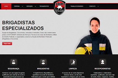 Webdesign - Grupo Capital Service